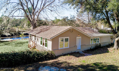 Jacksonville Single Family Home For Sale: 9940 Sibbald Rd