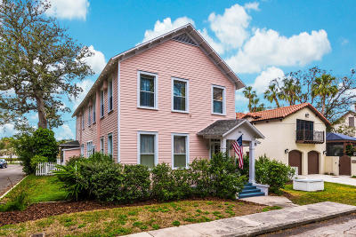 St Augustine Single Family Home For Sale: 340 Charlotte St