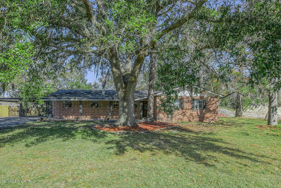 Jacksonville Single Family Home For Sale: 1005 Pecan Park Rd