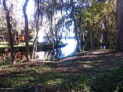 St Augustine Residential Lots & Land For Sale: 8509 Florence Cove Rd