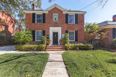 San Marco Single Family Home For Sale: 1711 Belmonte Ave
