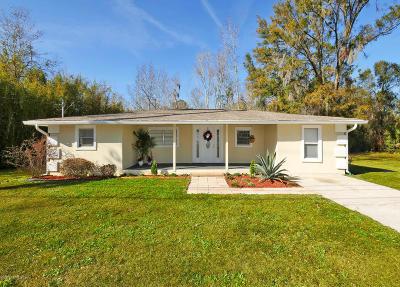 Single Family Home For Sale: 3869 Cedar Point Rd