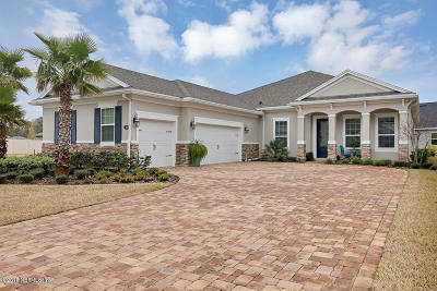 Nocatee, Nocatee Single Family Home Contingent Take Backup: 60 Stony Ford Dr