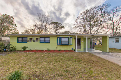 St Augustine Single Family Home For Sale: 1329 Francis St