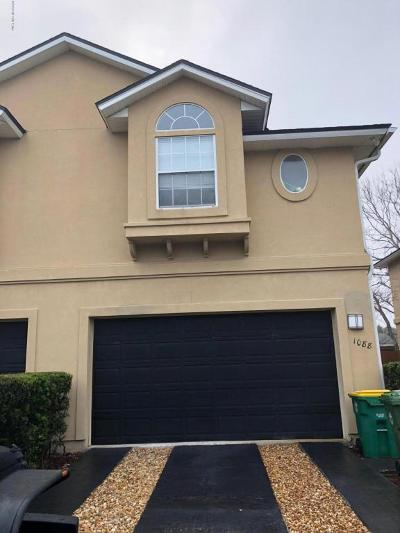 Jacksonville Beach Townhouse For Sale: 1088 7th St S