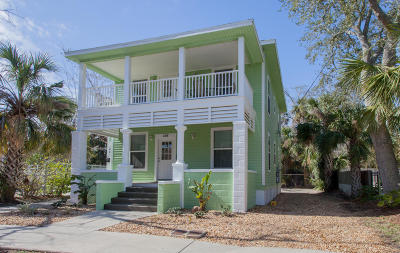 St Augustine Multi Family Home For Sale: 166 Cordova St