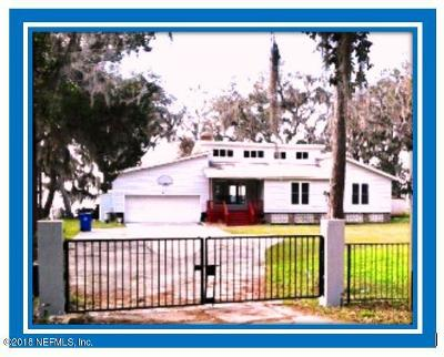 St Augustine Single Family Home For Sale: 661 S County Road 13