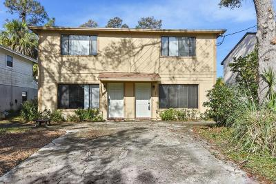 Atlantic Beach Townhouse For Sale: 252/246 Poinsettia St