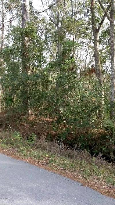 Orange Park Residential Lots & Land For Sale: 3060 Oak Rd