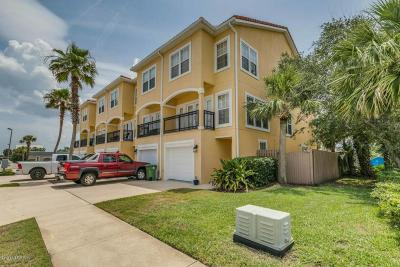 Jacksonville Beach Townhouse For Sale: 1330 2nd St S #F