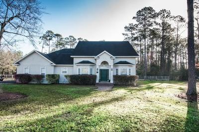 Macclenny Single Family Home For Sale: 375 E East Blvd