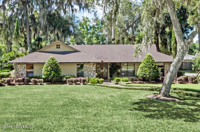 Jacksonville Single Family Home For Sale: 2838 Spanish Cove