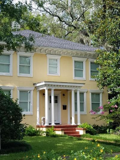 Jacksonville Single Family Home For Sale: 4354 Melrose Ave