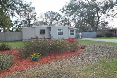 Jacksonville Single Family Home For Sale: 6754 Gamewell Rd