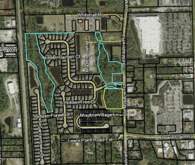 St. Johns County Residential Lots & Land For Sale: Old Moultrie Rd