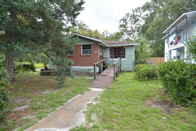 Jacksonville Single Family Home For Sale: 1610 W 36th St