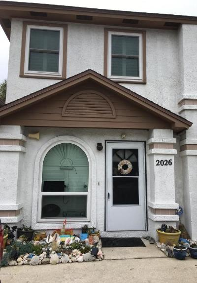 Jacksonville Beach FL Townhouse Contingent Take Backup: $299,900