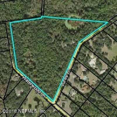 St. Johns County Residential Lots & Land For Sale: 332 Lures Ln