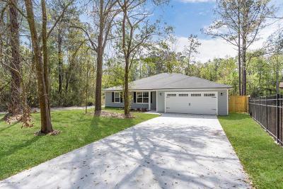 Jacksonville Single Family Home For Sale: 8874 Hogan Rd