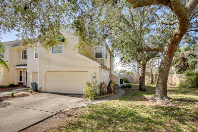 Neptune Beach Single Family Home Contingent Take Backup: 120 Sand Castle Way