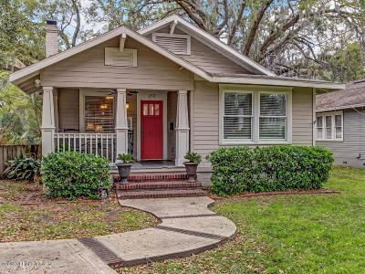 Duval County Single Family Home For Sale: 2917 Yale Ave