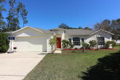 Flagler County Single Family Home For Sale: 8 Penndale Pl