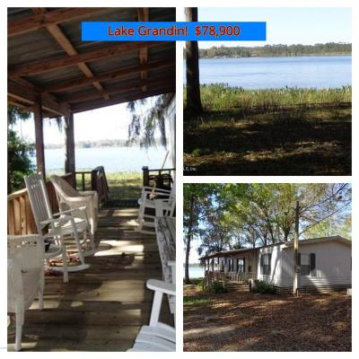 Interlachen FL Single Family Home For Sale: $82,000