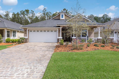 St Augustine Single Family Home For Sale: 1640 Sugar Loaf Ln