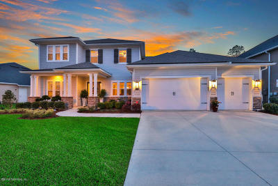 St Johns FL Single Family Home For Sale: $550,000