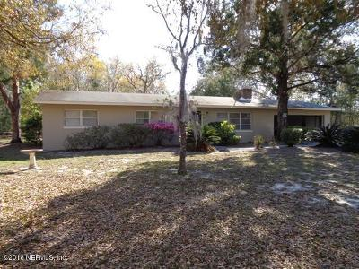 Interlachen FL Single Family Home For Sale: $194,000
