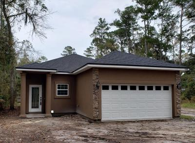 Fleming Island Single Family Home For Sale: Lot 25 Florida St