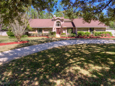 Jacksonville Single Family Home For Sale: 7969 Little Fox Ln