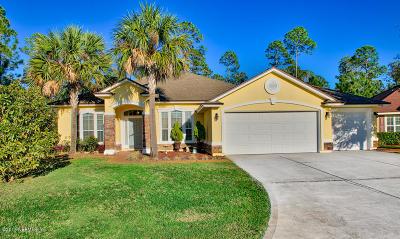Atlantic Beach, Neptune Beach, Jacksonville Beach, Ponte Vedra Beach, Fernandina Beach Single Family Home For Sale: 33206 Prairie Parke Pl