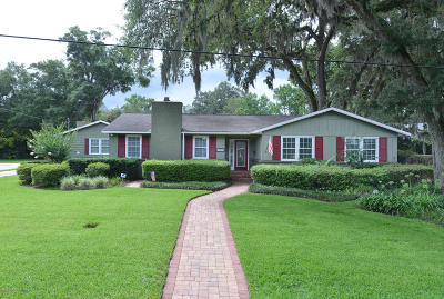 Jacksonville Single Family Home For Sale: 2436 Sedgwick Pl