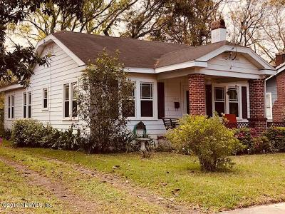 Duval County Single Family Home For Sale: 3216 Remington St