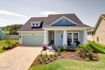 Ponte Vedra Single Family Home For Sale: 201 Paradise Valley Dr