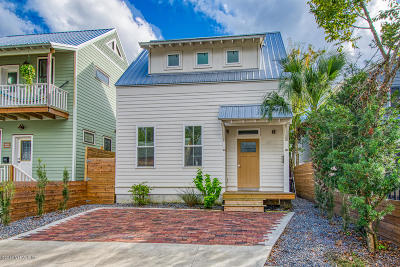 St Augustine Single Family Home For Sale: 123 Moore St