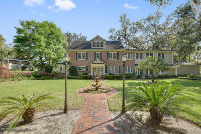 Jacksonville Single Family Home For Sale: 5380 Clifton Rd
