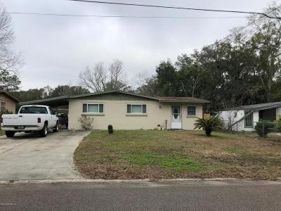 Jacksonville Single Family Home For Sale: 2412 Miss Muffet Ln W
