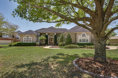 Jacksonville Single Family Home For Sale: 4438 Catheys Club Ln