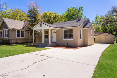 Duval County Single Family Home For Sale: 4024 Dellwood Ave