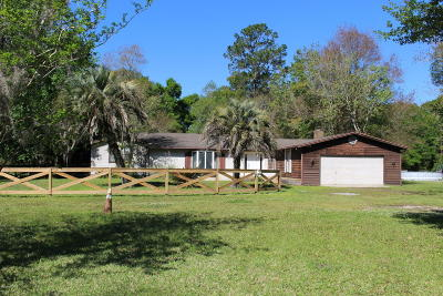 Lawtey Single Family Home For Sale: 1256 NW 250th St