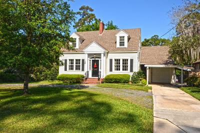 Ortega Single Family Home For Sale: 4022 Ortega Blvd