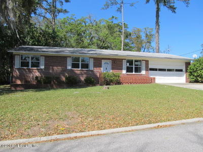 Jacksonville Single Family Home For Sale: 6933 Dongalla Ct