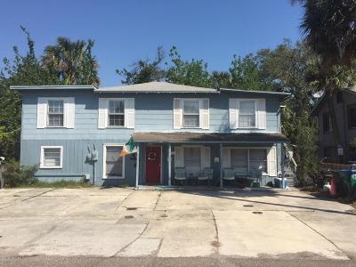 Neptune Beach Multi Family Home For Sale: 232 Oleander St