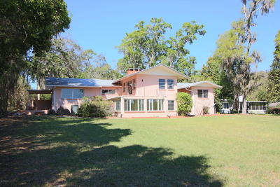 Keystone Heights Single Family Home For Sale: 3863 State Road 21