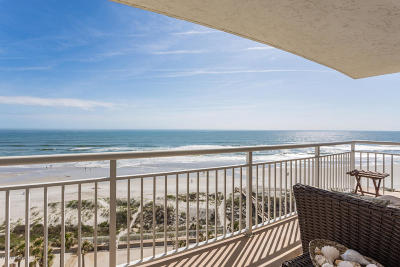 Jacksonville Beach Condo For Sale: 1601 Ocean Dr S #810