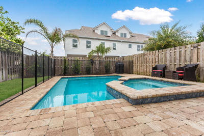 Jacksonville Beach Townhouse For Sale: 2653 Isabella Blvd #1