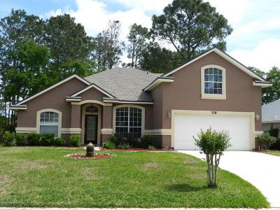 St Johns Single Family Home For Sale: 116 Elmwood Dr