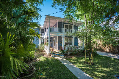 St Augustine Single Family Home For Sale: 13 Ballard Ave
